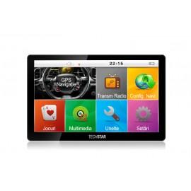 "GPS Auto Techstar 7"" Premium 8GB Resigilat"