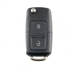 Cheie completa tip briceag, cu chip si telecomanda pentru, Volkswagen, 2 butoane, 433 mhz 1J0959753AG