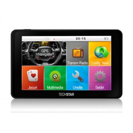 "GPS Auto Techstar GoTrack 5"" HD Resigilat"