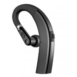 Casca Bluetooth Techstar® M11 Negru, Ultra Usor, Comfortabil