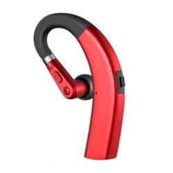 Casca Bluetooth Techstar® M11 Rosu, Ultra Usor, Comfortabil, Sunet HD, Noise Canceling, 10gr
