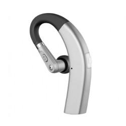 Casca Bluetooth Techstar® M11 Argintiu, Ultra Usor 10g, Comfortabil, HD, Noise Canceling, 10gr