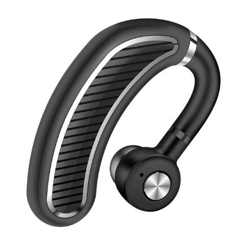 Casca Bluetooth Techstar® K21 Negru/Argintiu, Sunet HD, Autonomie Mare