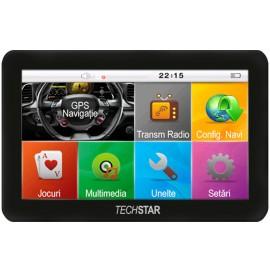 "GPS Auto Techstar Basic 4.3"" Resigilat"
