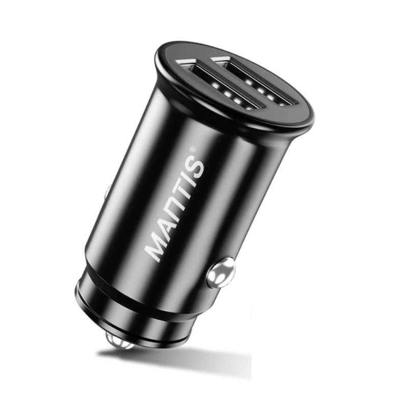 Incarcator Auto Techstar® Dual USB 5V 4.8A Fast Charging Compact imagine techstar.ro 2021