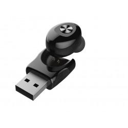 Casca Techstar® XC12 cu Bluetooth 5.0, In Ear, HandsFree, ExtraBass, Android si iOS
