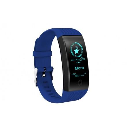 Bratara Fitness Smart Techstar® QW18 ALBASTRU, Monitorizare Cardiaca, Sedentary, Bluetooth, IP68, Ecran IPS