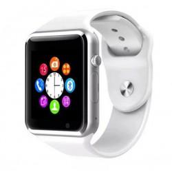Ceas Smartwatch Techstar® A1 Alb cu Bluetooth, Compatibil SIM si MicroSD