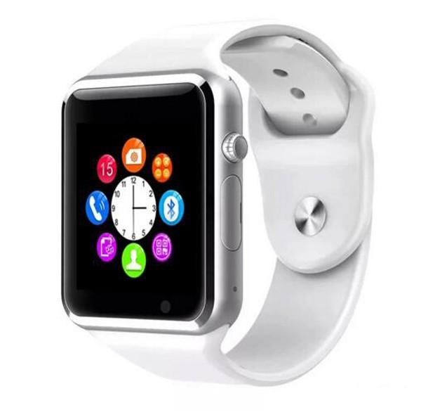 Ceas Smartwatch Techstar® A1 Alb cu Bluetooth, Compatibil SIM si MicroSD poza 2021