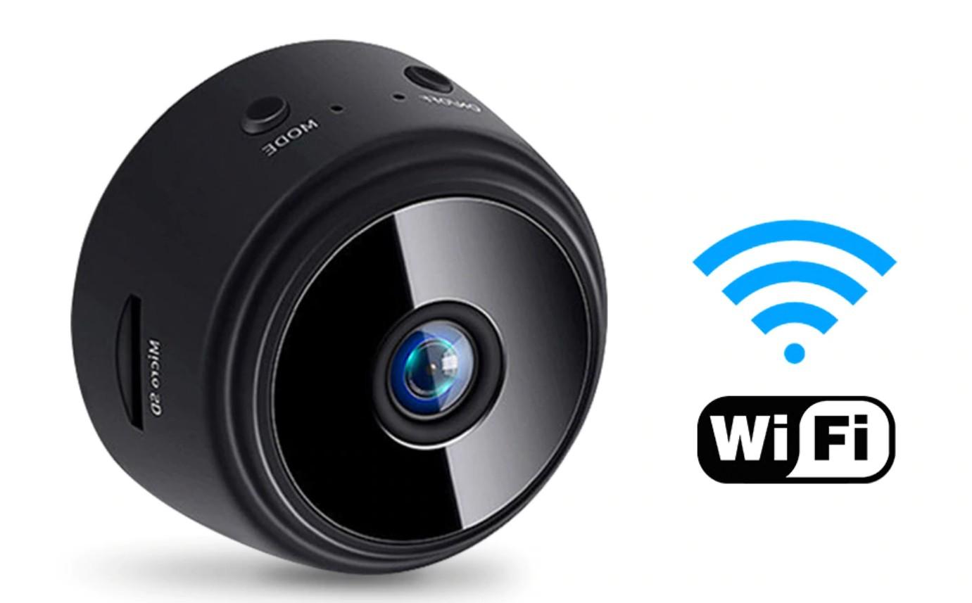 Camera supraveghere Techstar® RL-96 1080P FullHD, Wide 150°, Infrarosu, MicroSD, WiFi, Spy, Prindere Magnetica