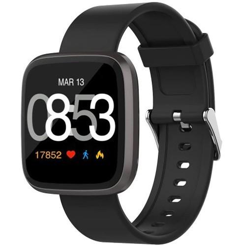Ceas Smartwatch iUni H5, Touchscreen, Bluetooth, Notificari, Pedometru, Black imagine techstar.ro 2021