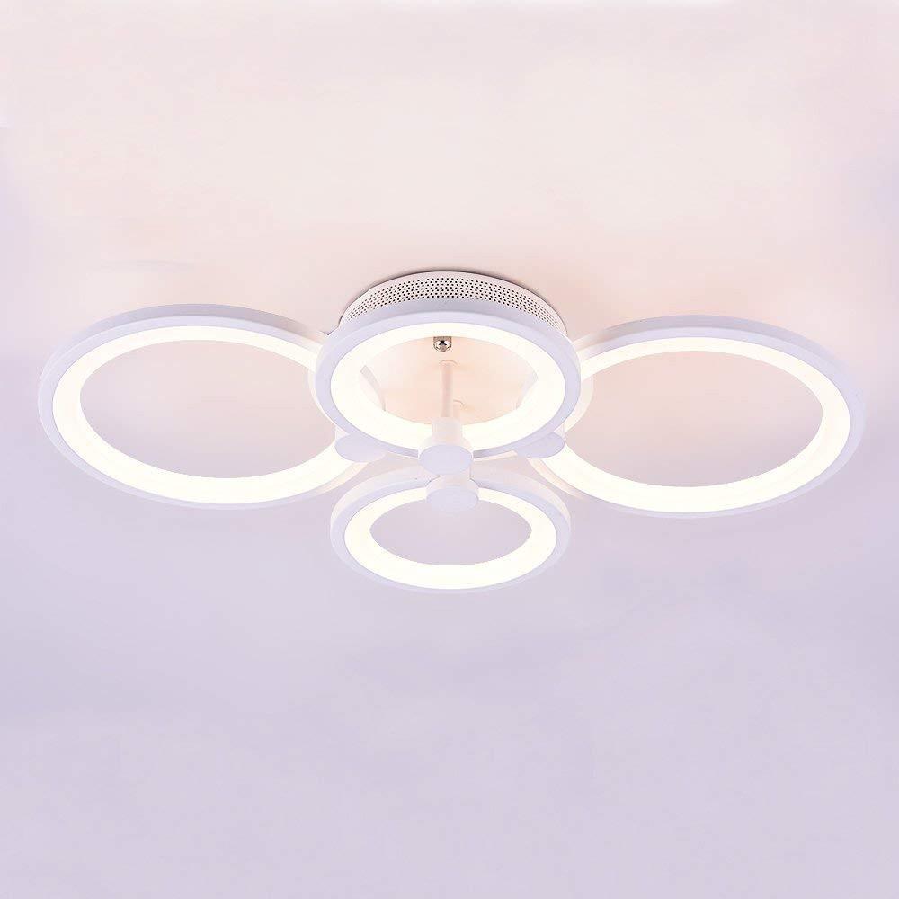 Lustra LED 96W 4 Elemente Cu Telecomanda imagine techstar.ro 2021