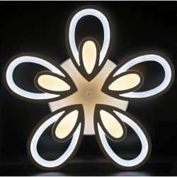 Lustra LED 200W C184-5 cu Telecomanda 3 Functii