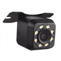 Camera Auto Marsarier Techstar® Waterproof, Vedere Retrovizoare, 8 LED-uri IR, Unghi 170°