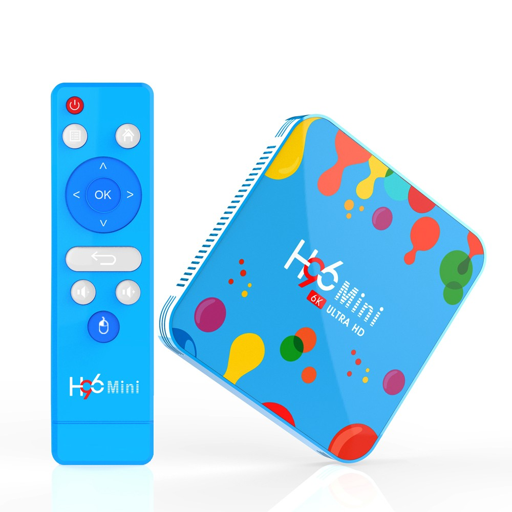 MiniPC TV Box Techstar® H96 Mini H6 4GB RAM + 128GB , 6K Ultra HD, HDR, Android 9, WiFi DualBand, USB 3.0, Bluetooth imagine techstar.ro 2021