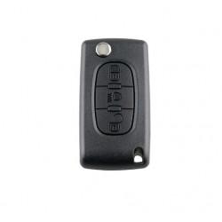 Carcasa cheie tip briceag pentru Citroen, 3 butoane