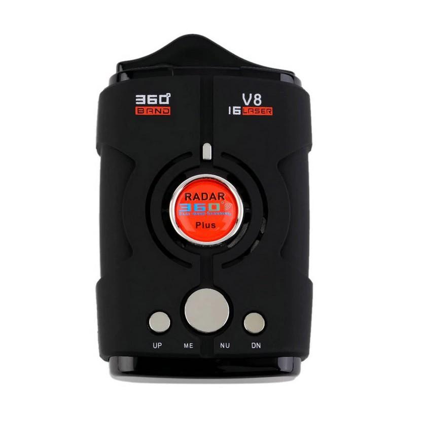 Detector Radar Auto V8 Cu Laser, Alerta Voce, Sistem Alarma Viteza