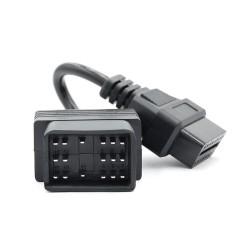 Cablu adaptor Auto Toyota, 17 Pin la OBD2 16 Pin