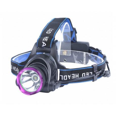 Lanterna Frontala de Cap Flashsix E60 Aluminiu cu Led Cree-T6 10W 550 Lumeni 950 Lumeni 10W Acumulatori Inclusi