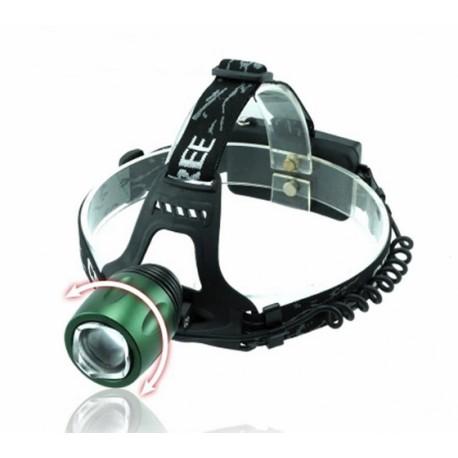Lanterna Frontala Flashsix E01 950 Lumeni Putere 10W Acumulatori Inclusi