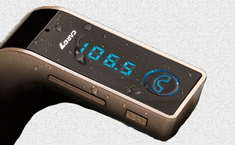 Modulator FM Hands Free Bluetooth 4 in 1, Display, USB, Micro SD, Aux imagine techstar.ro 2021