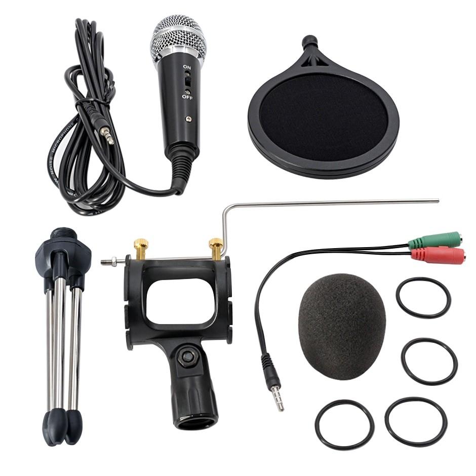 Microfon Profesional BM400 Techstar®, Inregistrare Vocala Si Karaoke, Negru imagine techstar.ro 2021