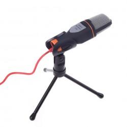 Microfon Profesional SF666 Techstar®, Inregistrare Vocala Si Karaoke, Negru