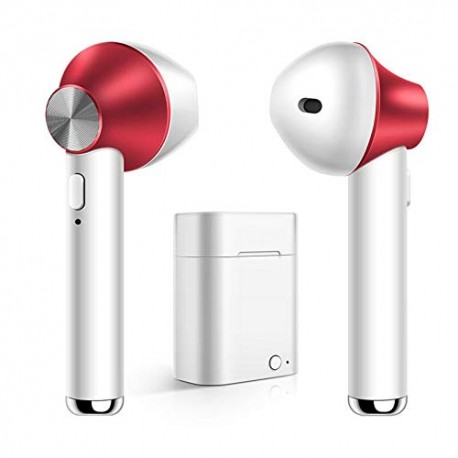 Casti TWS D-12A, Techstar®, Wireless, Bluetooth 5.0, HD Audio, Binaural, Android, iOS