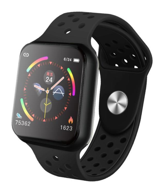 Smartwatch Techstar® Sport F9 Negru Waterproof IP67 Functie Bluetooth, Ecran 1.3 inch Conectare Android si IoS poza 2021
