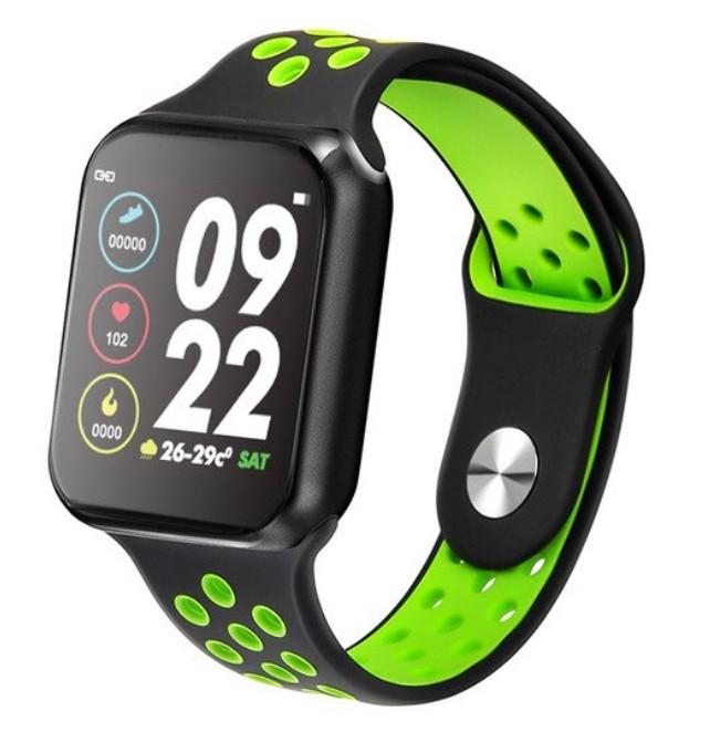Smartwatch Techstar® Sport F9 Verde Waterproof IP67 Functie Bluetooth, Ecran 1.3 inch Conectare Android si IoS poza 2021