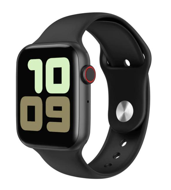 Ceas Smartwatch Techstar® W34S Negru, 1.54 inch HD IPS, Monitorizare Cardiaca, Electrodiagrama ECG, Sedentary, Bluetooth poza 2021