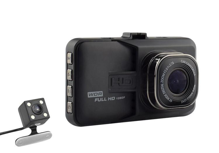 Camera Video Auto Dubla Novatek T636 FullHD cu functia WDR Resigilat