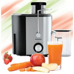 Storcator de fructe Heinner HSF 500S 500W Recipient pulpa 1.2l Recipient suc 350 ml 2 trepte de viteza Inox