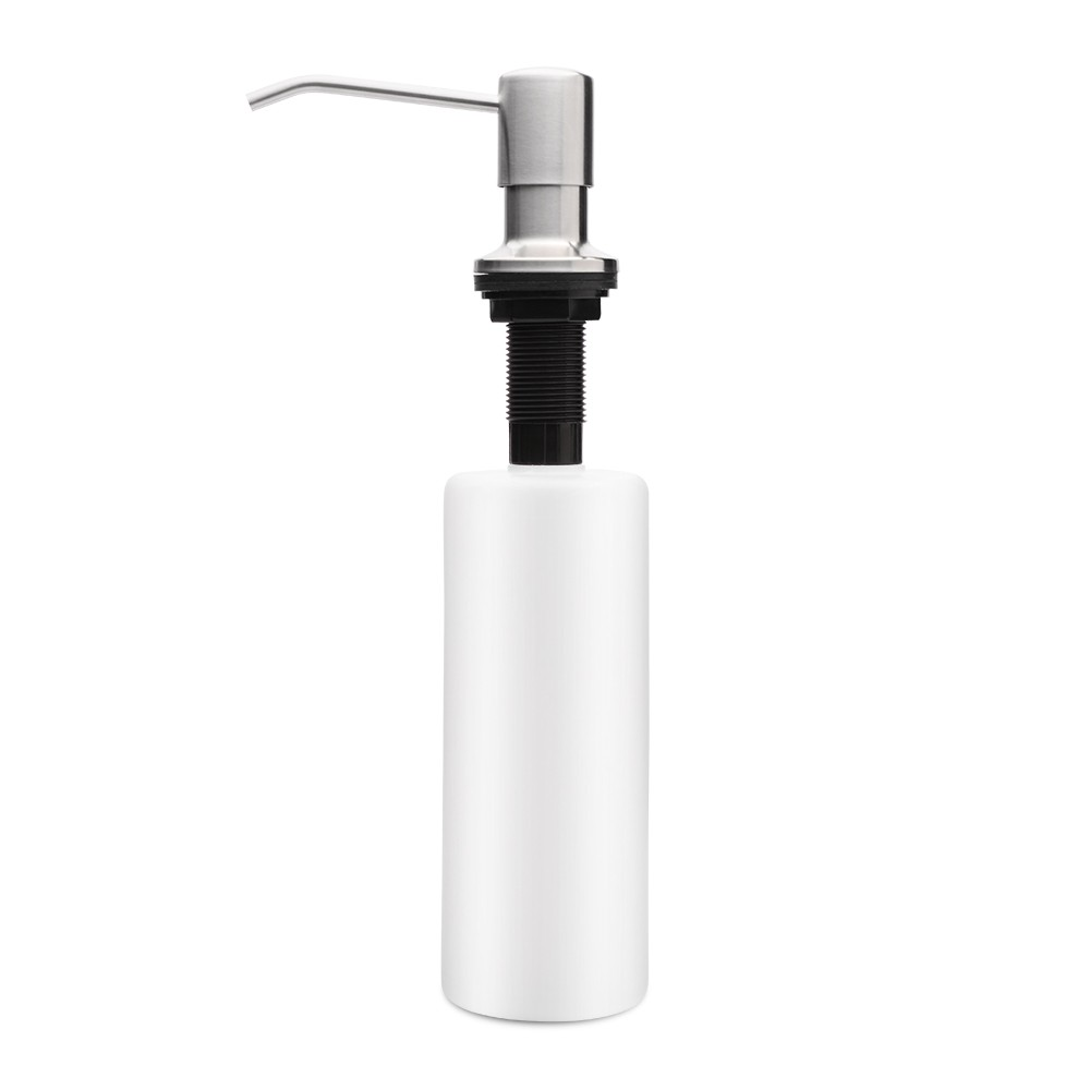 Dozator Incorporabil Inox, Pentru Chiuveta, Sapun, Detergent, 300ml imagine techstar.ro 2021