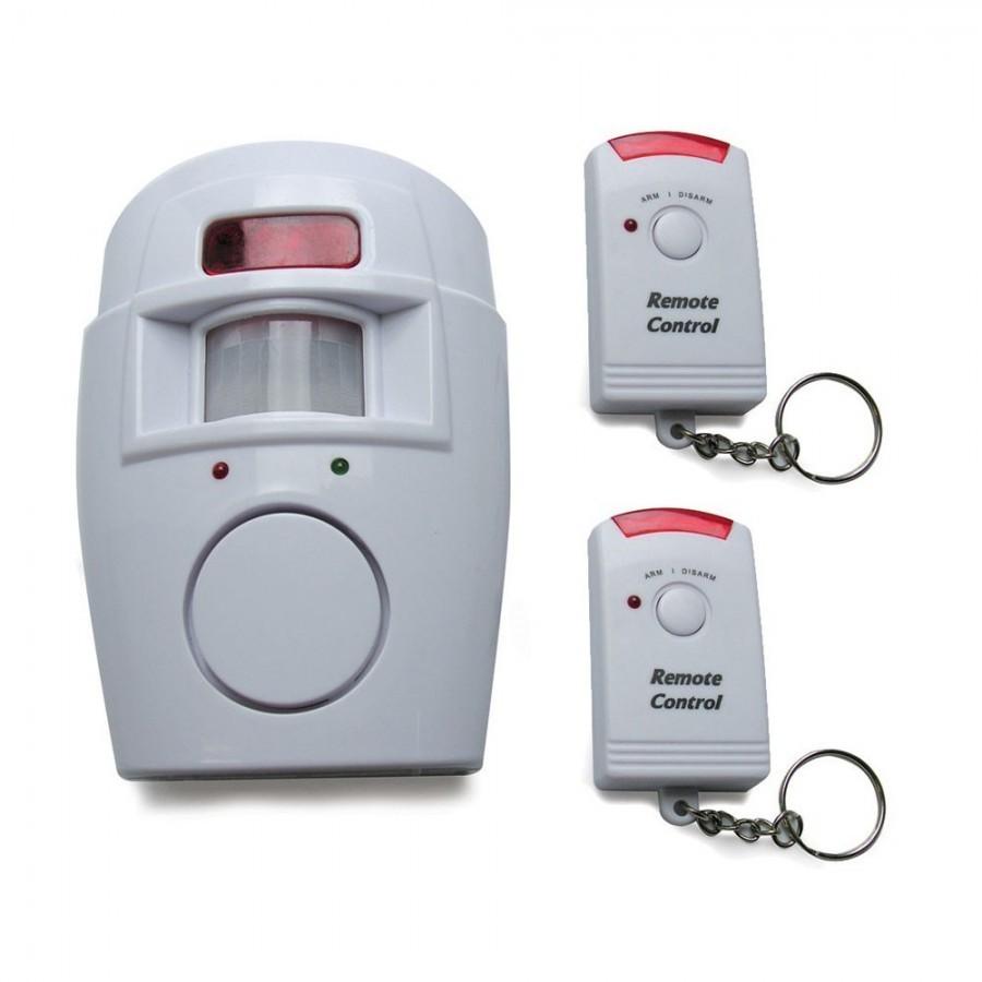 Alarma de securitate fara fir, senzor de miscare si 2 telecomenzi imagine techstar.ro 2021