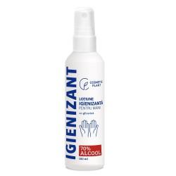 Loțiune igienizanta pentru maini 70% alcool etilic & glicerină, 100 ml, Cosmetic Plant