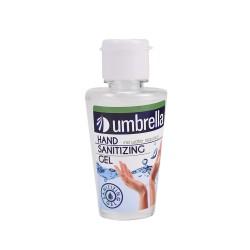 Gel dezinfectant antibacterian, 50 ml, Umbrella
