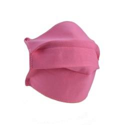 Set 10 masti de protectie reutilizabile 2 straturi polipropilena, Roz