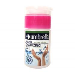 Gel de Igienizant cu Pompita pentru maini, Umbrella, 75ml, cu Alcool, Antibacterian