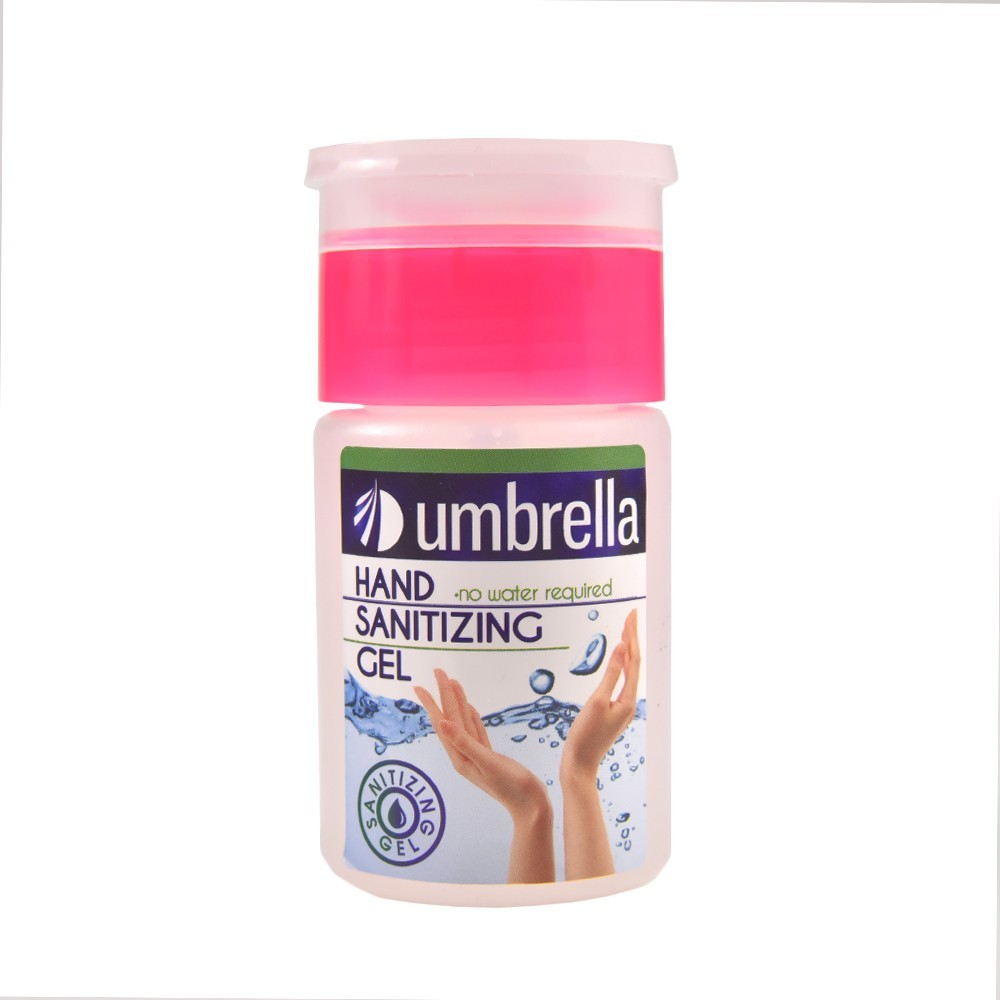 Gel igienizant antibacterian cu 60% alcool, 75 ml, Umbrella imagine techstar.ro 2021