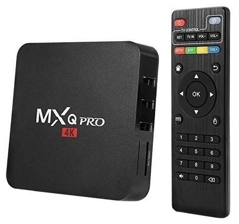 Mini PC Android 7.1 Media Player, TV Box MXQ PRO UltraHD 4K Quad-Core 64 Bit 2GB RAM, 16GB ROM Wireless, Ethernet imagine techstar.ro 2021