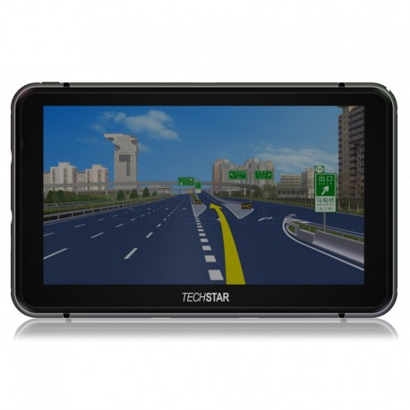 "GPS Auto Techstar 7"" Premium+ 8GB 256ram Resigilat"