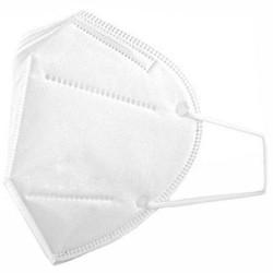 Set 5 bucati KN95 Masca Protectie Respiratorie, 5 straturi, Albe