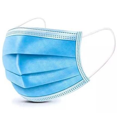 Set 50 bucati Masca Protectie Respiratorie 3 straturi, 3 pliuri, Albastru imagine techstar.ro 2021