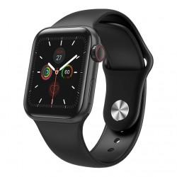 Ceas Smartwatch Techstar® W58Pro Negru, 1.3 inch IPS, Monitorizare Temperatura, Sedentarism, Bluetooth, IP67