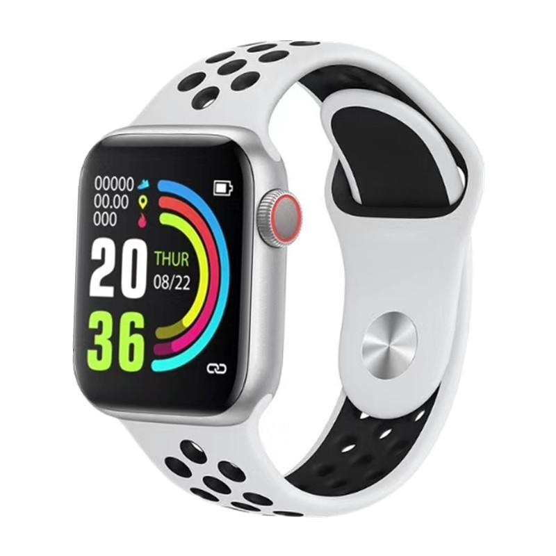 Ceas Smartwatch Techstar® W5 Alb, 1.54 inch IPS, Monitorizare Cardiaca, Tensiune, Sedentarism, Bluetooth 4.2 poza 2021