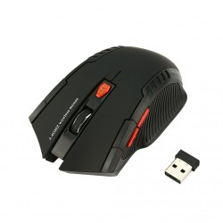 Mouse Optic Gaming Techstar®, 2000dpi, Wireless, Design Ergonomic