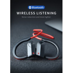 Casti Wireless Techstar® K98, Bluetooth 4.1, HiFi, Cip CSR