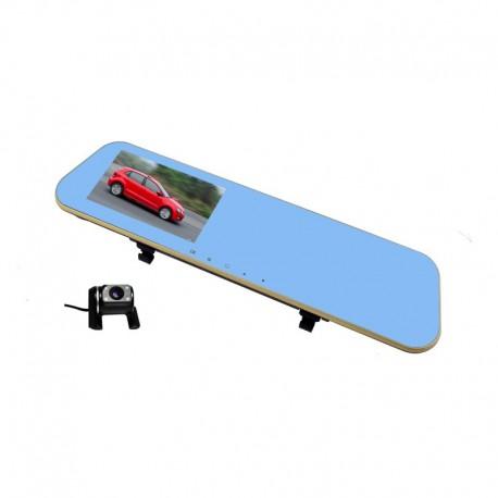 Camera Auto Oglinda Dubla L856 cu unghi de 170° FullHD Resigilata