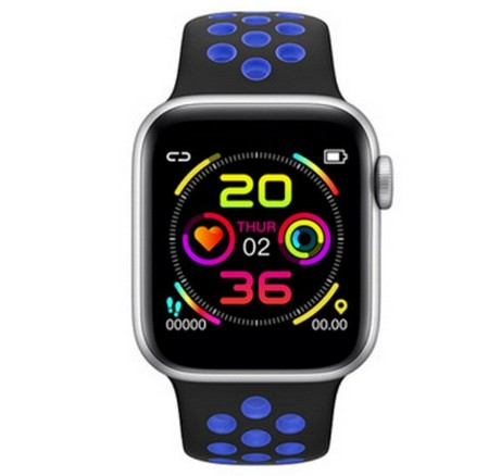 Ceas Smartwatch Techstar® W5 Albastru, 1.54 inch IPS, Monitorizare Cardiaca, Tensiune, Sedentarism, Bluetooth 4.2 poza 2021